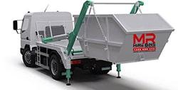 Skip Bin Hire Coffs Truck Rear